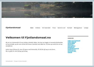 Fjotlandsmaal.no